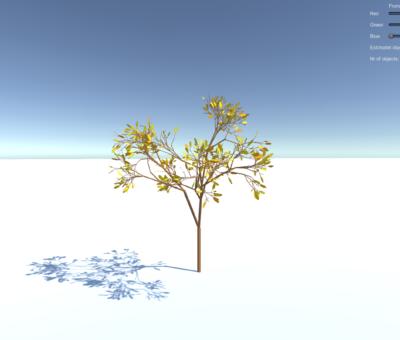 Recursive Tree – Unity 3D